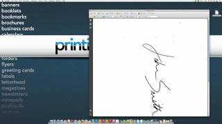 create a digital version of your signature