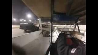 Hilary Ward Fulton Speedway 8/24/13 Feature Race