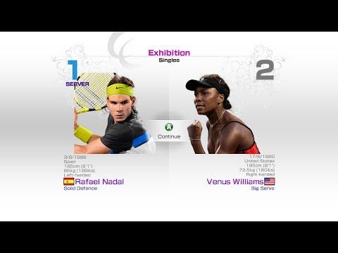virtua-tennis-4-sega-rafael-nadal-vs-venus-williams-rafael-nadal-roger-federer-andy-murray