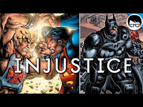 BATMAN Y SUPERMAN OSCUROS VS LA RESITENCIA (2018) | Injustice Vs. Masters of the Universe #2