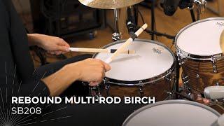 MEINL Stick & Brush Rebound Multi-Rod Birch SB208