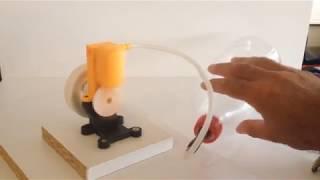 Moteur à air comprimé imprimé 3D