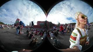 Фан-зона Москва. 360 VR. Матч Россия-Хорватия 3