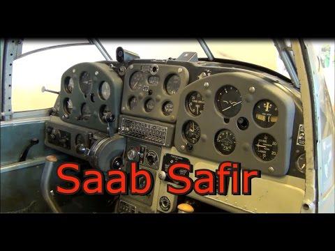 Saab 91D Safir Finnish Air Force