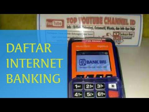 Cara Daftar Internet Banking BRI Menggunakan Mesin EDC Agen Brilink
