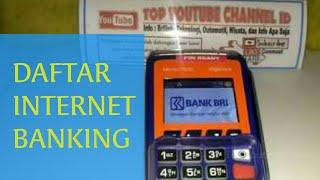 Download Cara Daftar Internet Banking BRI Menggunakan Mesin EDC Agen Brilink Mp3 and Videos