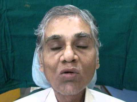 Dr Pankaj Kharade , Speech after Tongue Prosthesis placement