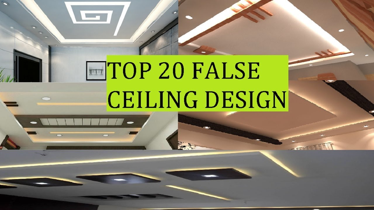 Top False Ceiling Designs 2020 Part-2 POP [False Ceiling ...