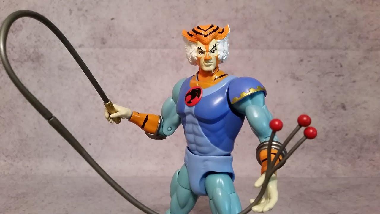 "Tygra Thundercats Classic 8/"" Action Figure Bandai"