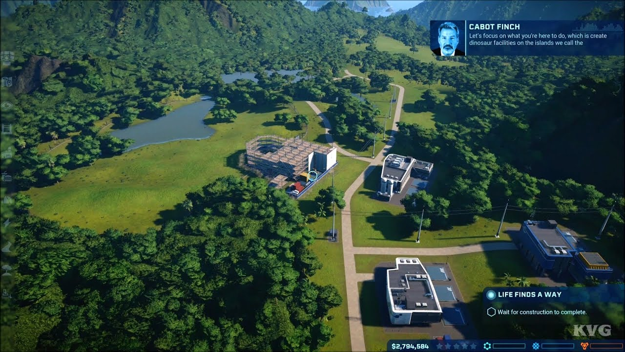jurassic world evolution gameplay xbox one x hd