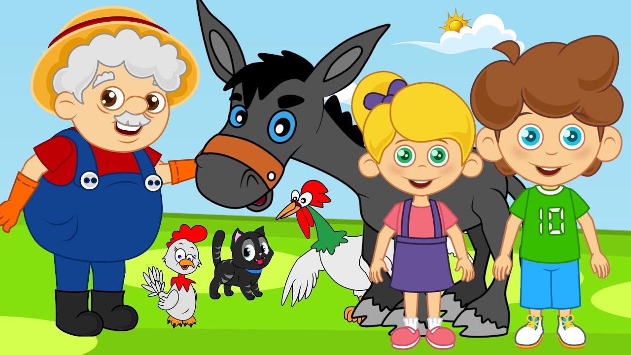 Ali Babanın Çiftliği 3 | Sevimli Dostlar ile Çizgi Film Çocuk Şarkıları