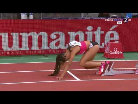 16 Natasha Hastings wins 400m Women's Diamond League Paris 2016 HD