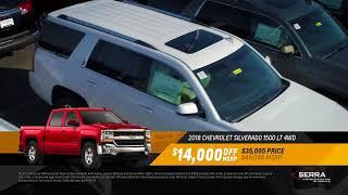 2018 Chevy Silverado 1500 LT 4WD 4x4 - Apr18 PR24 Serra Chevrolet Buick GMC Nashville