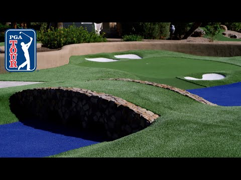 Augusta National mini-golf! Joel Dahmen vs Brian Urlacher