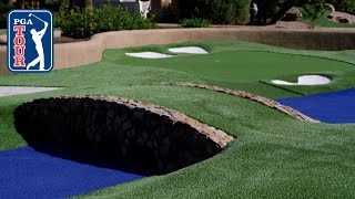 Augusta National mini-golf! Joel Dahmen vs Brian Urlacher