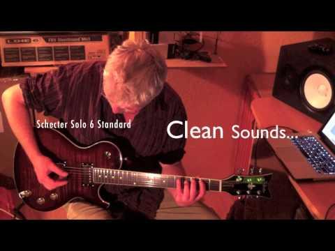 Schecter Solo 6 Standard, sounds