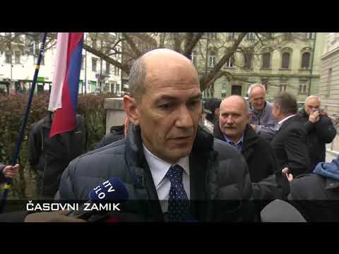 Janez Janša, dve različni izjavi o istem dogodku