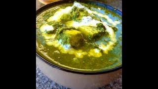 Palak paneer without onion and garlic by cooking with girija/No onion and garlic palak paneer recipe