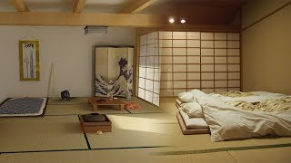 جولة فى أحد المنازل اليابانية .. البساطة والنظام هما العنوان