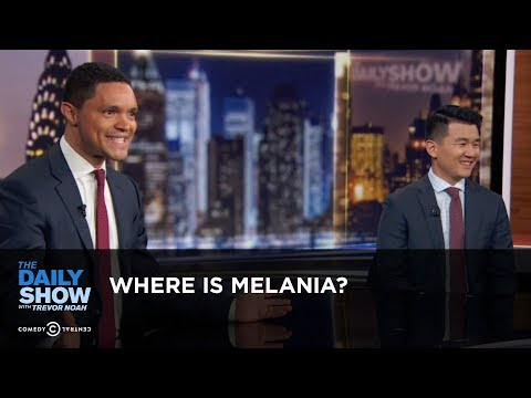 Where is Melania? – Between the Scenes   The Daily Show
