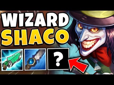 *NEW MAGIC BUILD* FULL AP SHACO IS INSANE (EVERY SPELL NUKES) - League Of Legends