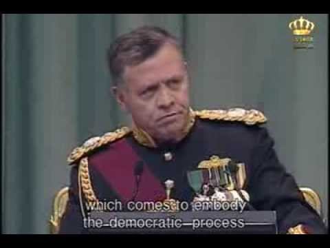 Speech from the Throne By His Majesty King Abdullah II