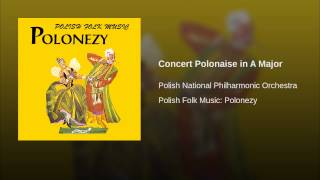 Concert Polonaise in A Major