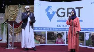 UK Qur'an Tour 2019: A duet nasheed with Kamal Uddin and Maryam Masud