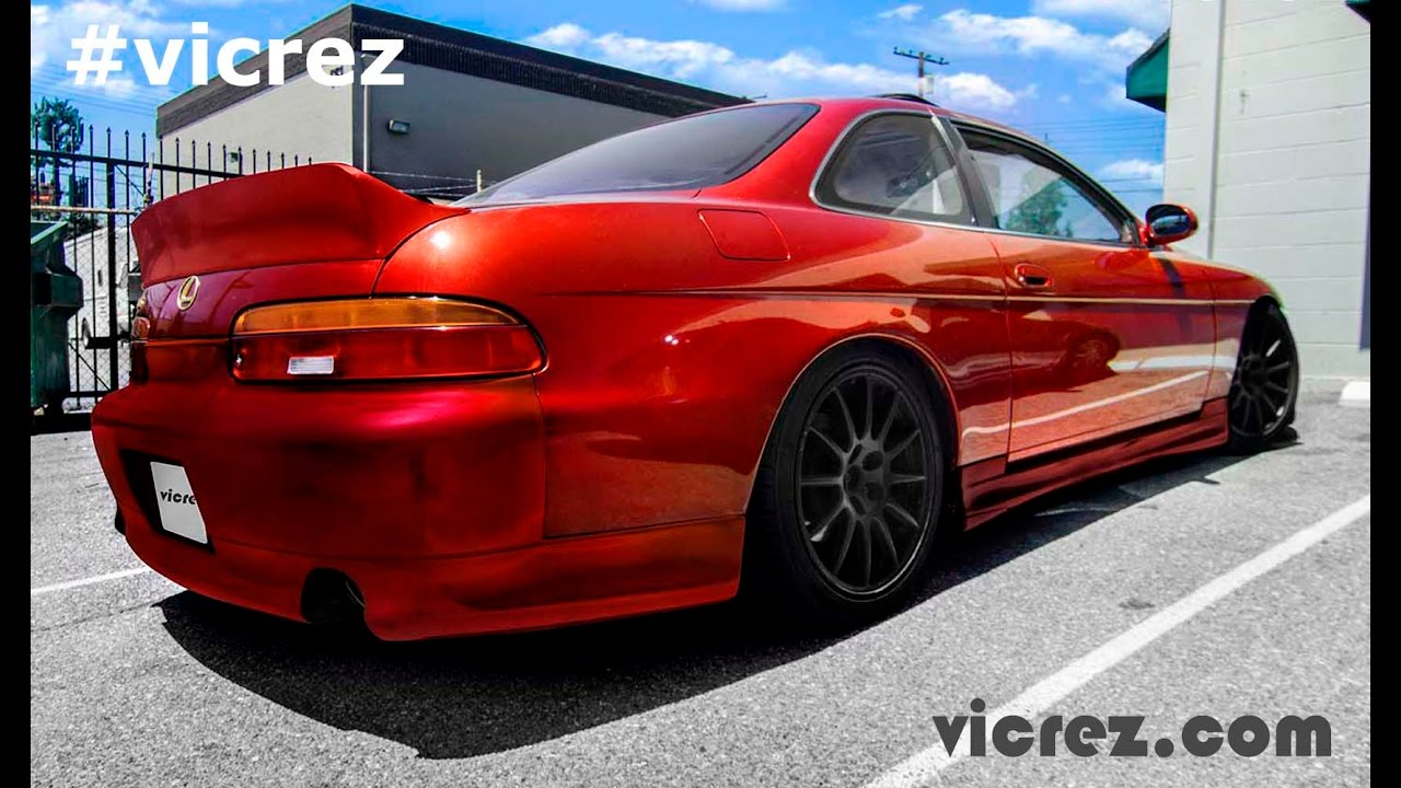 Vicrezcom Youtube Gaming 1992 Teal Lexus Sc300 2dr Coupe
