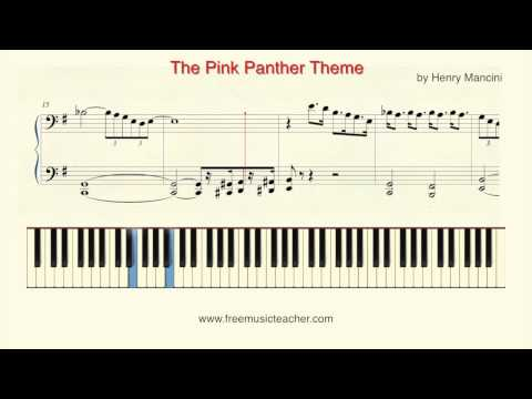 How To Play Piano: Pink Panther
