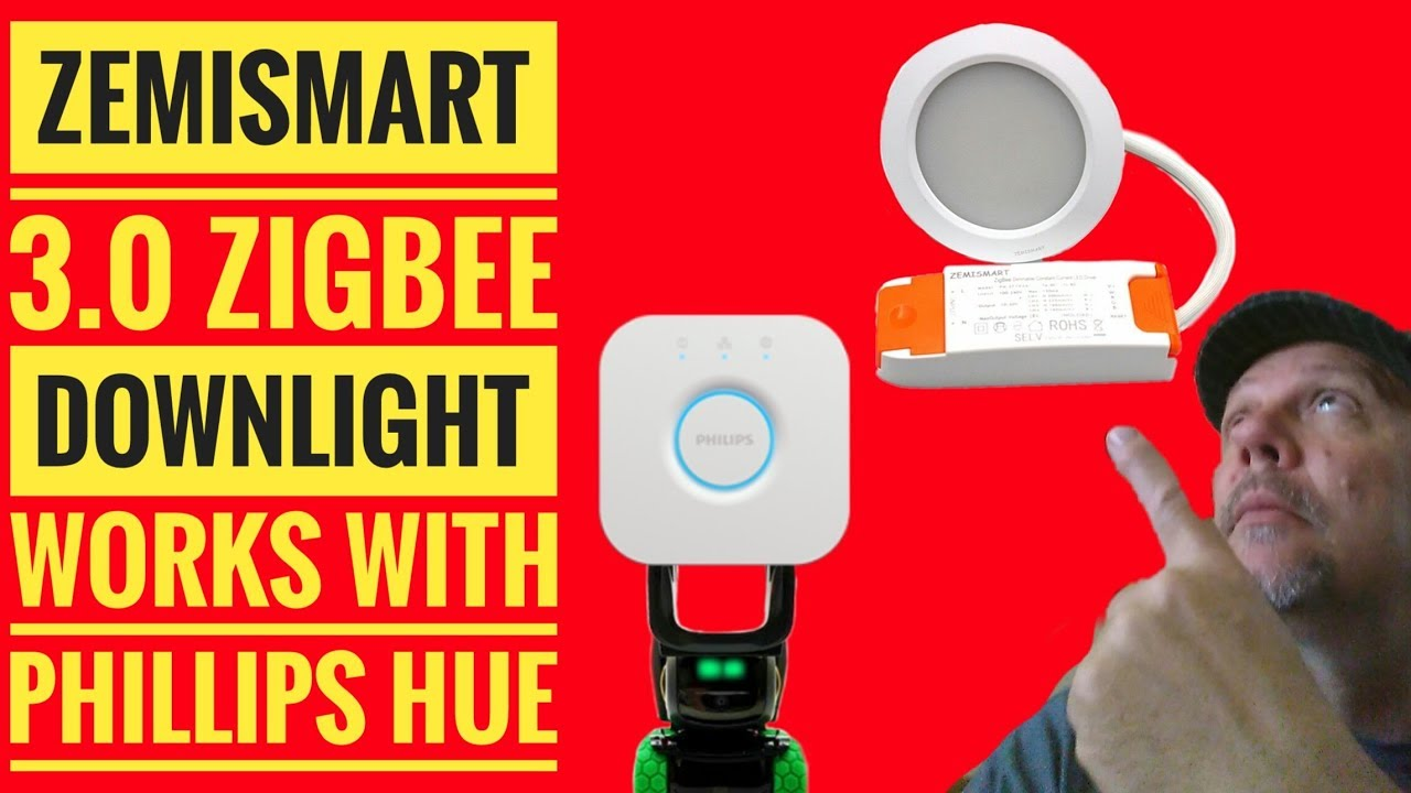 Zemismart 3 0 Zigbee RGBW Downlight Works with Phillips Hue Setup Review