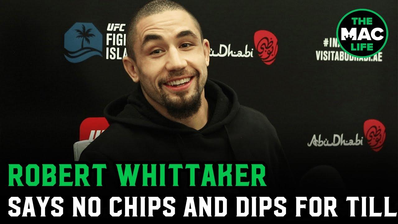 Download Robert Whittaker: 'I hope Darren Till breaks his leg, and then I fight him with a broken leg'