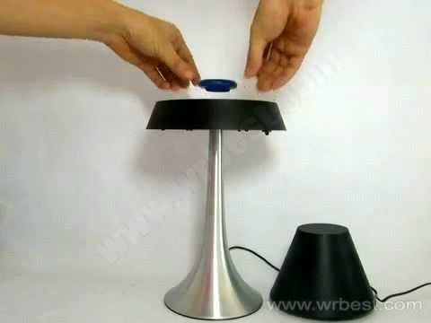 How To Floating Lamp,Magnetic Floating Table Lamp,levitating Lamp   YouTube
