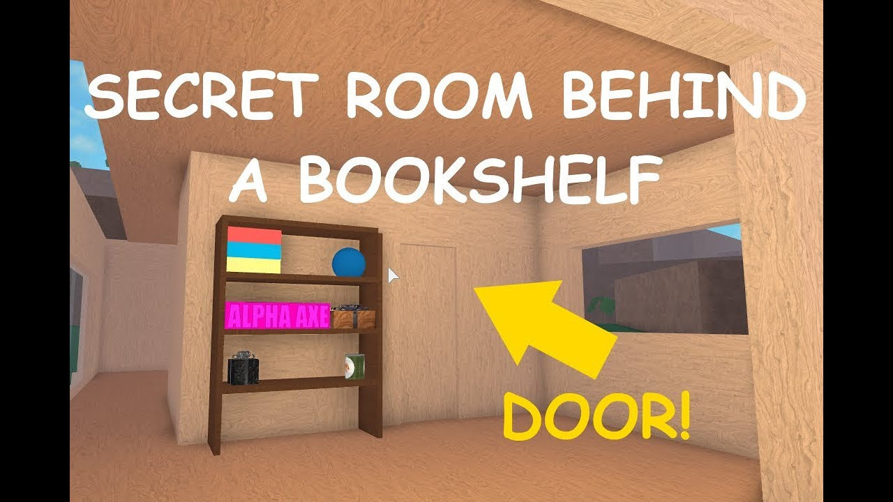 How To Make A Secret Room Behind Bookshelf Lumber Tycoon 2