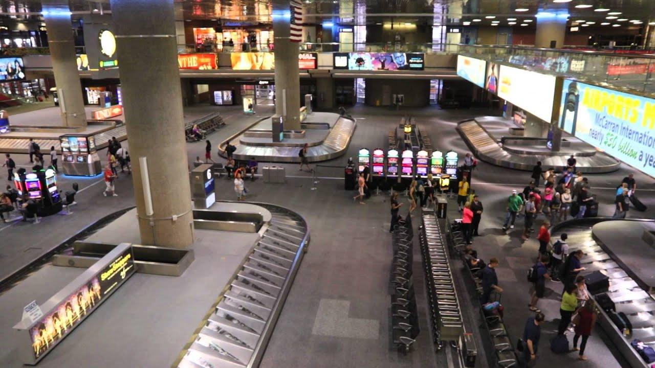 Baggage Claim At Mccarran Airport In Las Vegas Part2 -8121