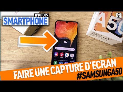 Comment Faire Une Capture D Ecran Sur Samsung Galaxy A50