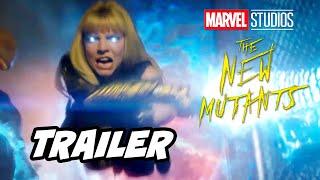Marvel New Mutants Trailer Full Opening Scene and X-Men Marvel Easter Eggs - Comic Con 2020