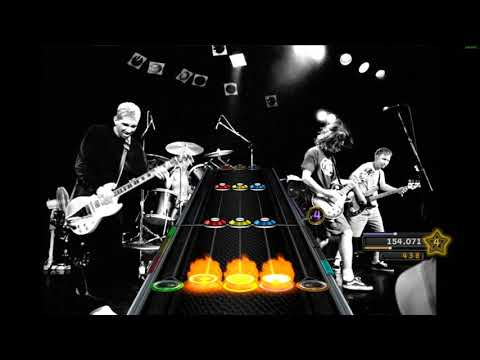 Foo Fighters - Exhausted (Open Notes)   Clone Hero/GH3+   Custom Chart