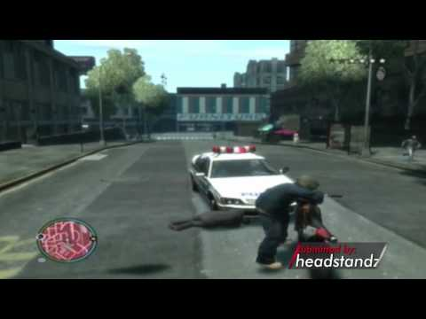 "Game Fails: GTA IV ""Saved by street crime"""