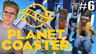 Planet Coaster Alpha 2 Gameplay | Roller Coaster Park Game | Part 6