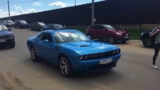 Подарили другу мечту на ДР. Dodge Challenger бесплатно)