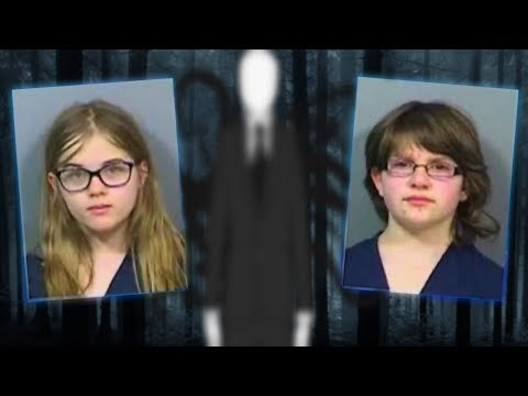12 Year Old Girls CHARGED in Slenderman Stabbing...