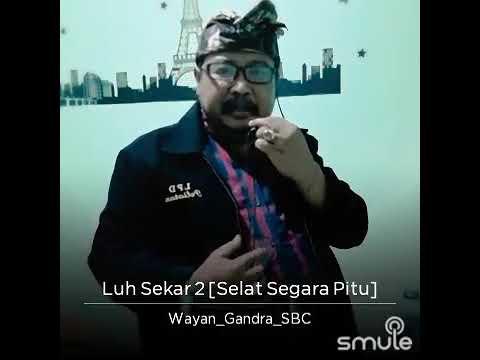 Luh sekar 2 ( segara pitu ) widi widiana.. cover by Wyn Gandra