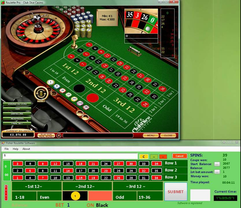Red 7 roulette software