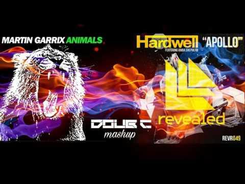 Apollo Animals  Hardwell & Amba Shephed VS Martin Garrix Doub C Mashup
