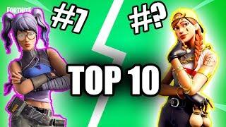 THE BEST GREEN SKINS V.2 Fortnite TOP Nexsgo