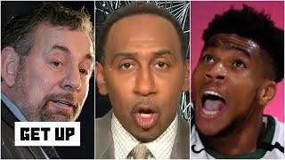 'No way in hell' does Giannis leave the Bucks for the Knicks - Stephen A. | Get Up
