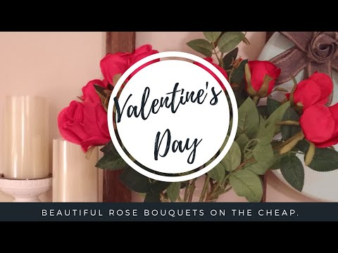 DIY rose bouquets that'll last forever | Valentine's Day roses | Jessica Sunshine