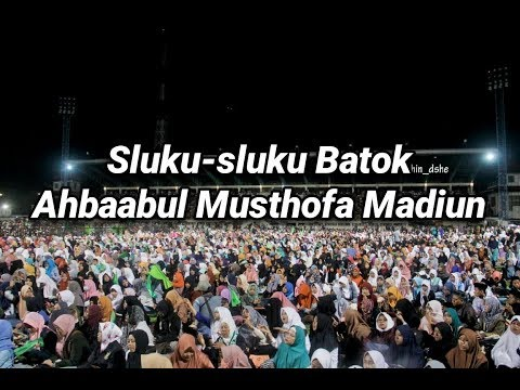 Sluku-sluku bathok Ahbaabul musthofa Madiun. Madiun Bersholawat 26 November 2016