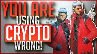 You Are Using CRYPTO Wrong | In Depth Legend Guide | APEX Legends